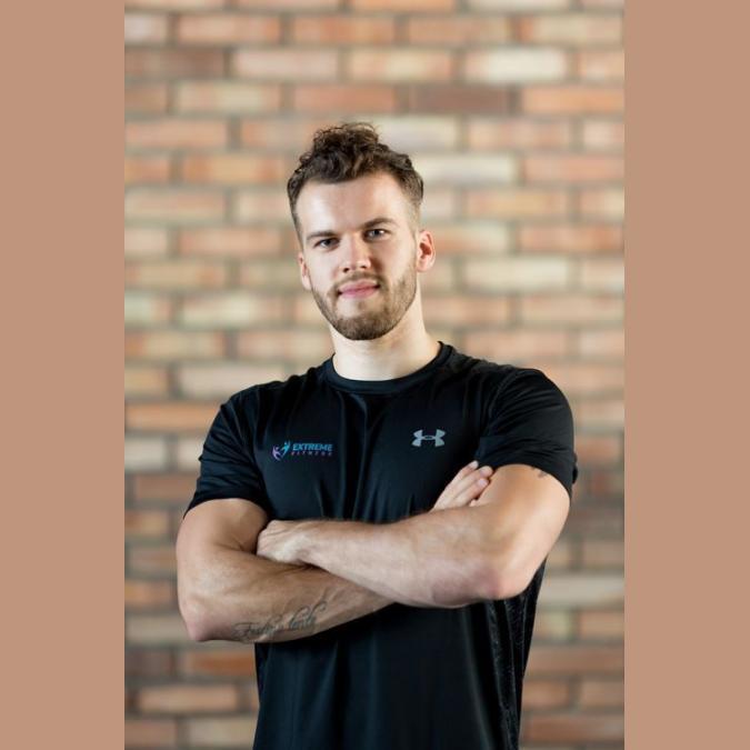 Trener Michał Zieliński